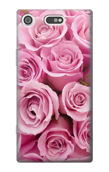 Printed Pink Rose Sony Xperia E5 Case
