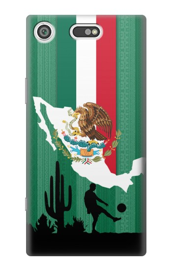 Printed Mexico Football Flag Sony Xperia E5 Case