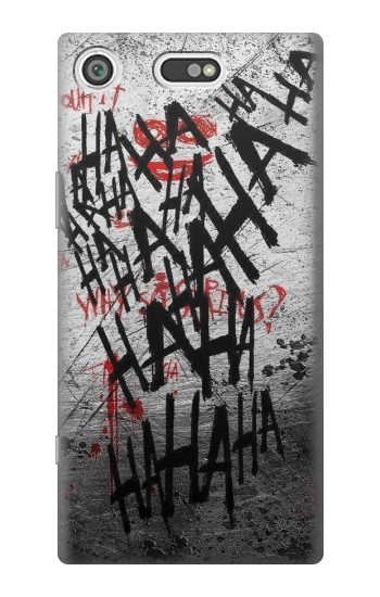 Printed Joker Hahaha Blood Splash Sony Xperia E5 Case