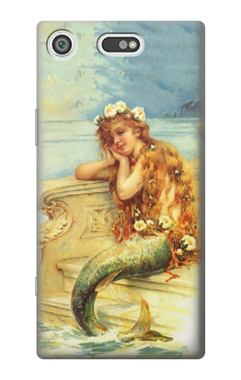 Printed Little Mermaid Painting Sony Xperia E5 Case