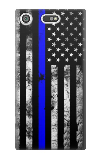 Printed Thin Blue Line USA Sony Xperia E5 Case