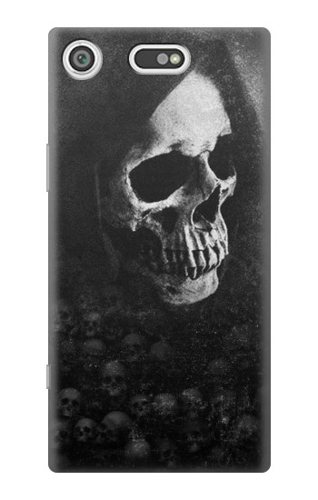 Printed Death Skull Sony Xperia E5 Case