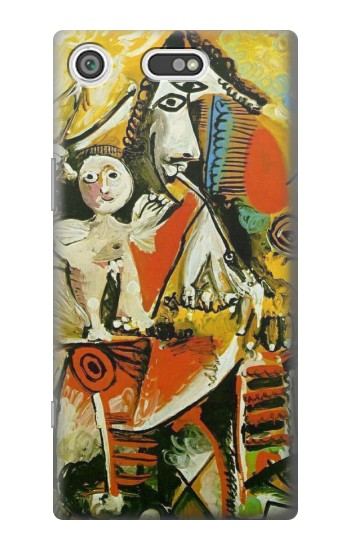 Printed Picasso Painting Cubism Sony Xperia E5 Case