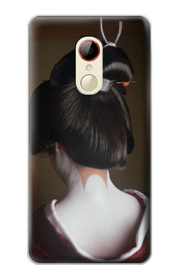 Printed Japan Geisha Neck ZTE Nubia Z9 Mini Case