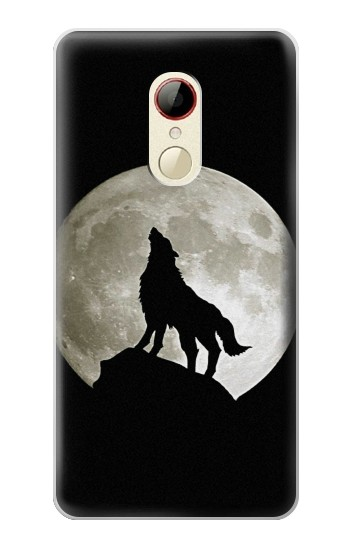 Printed Wolf Howling at The Moon ZTE Nubia Z9 Mini Case