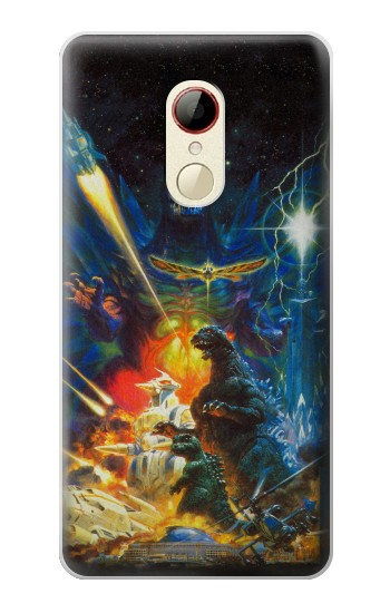 Printed Godzilla VS Space Godzilla ZTE Nubia Z9 Mini Case