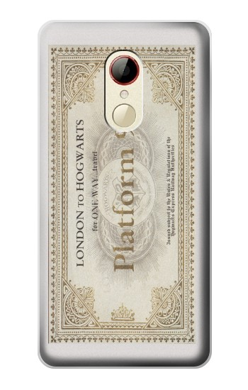 Printed Harry Potter Platform 9 34 Ticket Hogwart ZTE Nubia Z9 Mini Case