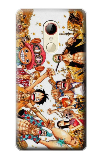 Printed One Piece Straw Hat Luffy Pirate Crew ZTE Nubia Z9 Mini Case