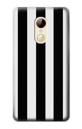 Printed Black and White Vertical Stripes ZTE Nubia Z9 Mini Case