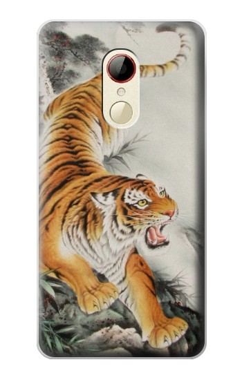 Printed Chinese Tiger Tattoo Painting ZTE Nubia Z9 Mini Case
