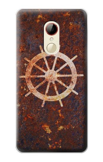 Printed Ship Wheel Rusty Texture ZTE Nubia Z9 Mini Case