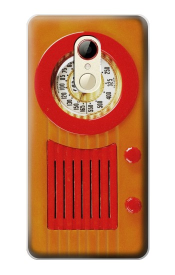 Printed Vintage Bakelite Radio Orange ZTE Nubia Z9 Mini Case