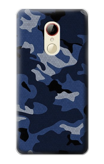 Printed Navy Blue Camouflage ZTE Nubia Z9 Mini Case