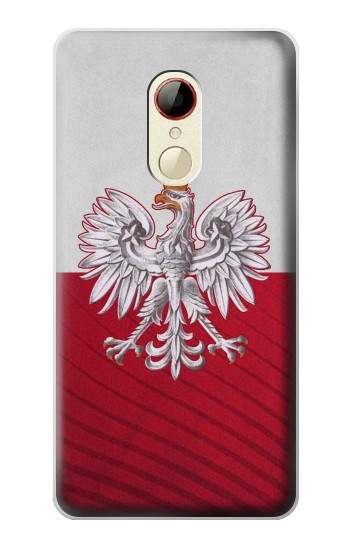 Printed Poland Football Flag ZTE Nubia Z9 Mini Case