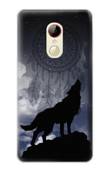Printed Dream Catcher Wolf Howling ZTE Nubia Z9 Mini Case