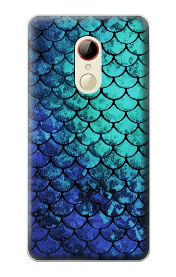 Printed Green Mermaid Fish Scale ZTE Nubia Z9 Mini Case