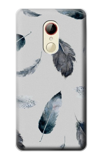 Printed Feather Paint Pattern ZTE Nubia Z9 Mini Case