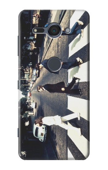 Printed The Beatles Abbey Road Sony Xperia XZ2 Compact Case