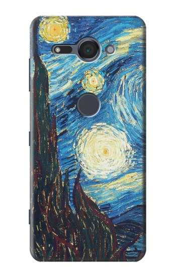 Printed Van Gogh Starry Nights Sony Xperia XZ2 Compact Case