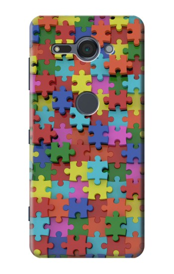 Printed Puzzle Sony Xperia XZ2 Compact Case
