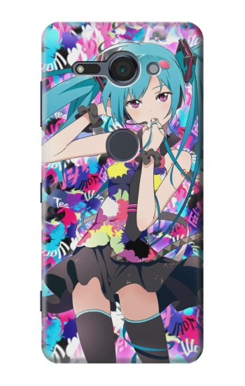 Printed Vocaloid Hatsune Miku Tell Your World Sony Xperia XZ2 Compact Case