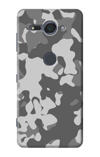 Printed Gray Camo Camouflage Graphic Printed Sony Xperia XZ2 Compact Case