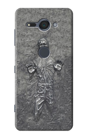 Printed Han Solo in Carbonite Sony Xperia XZ2 Compact Case