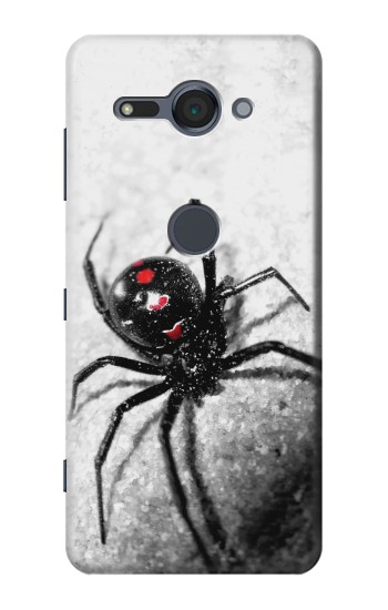 Printed Black Widow Spider Sony Xperia XZ2 Compact Case