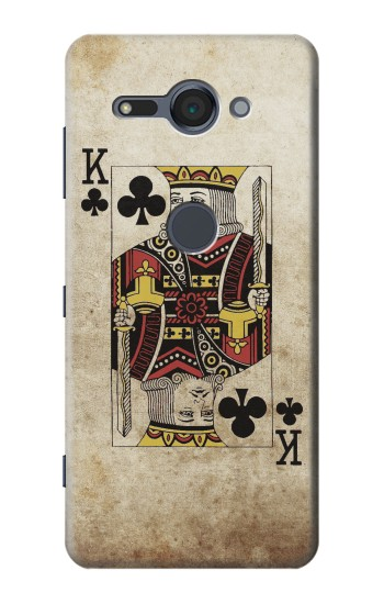 Printed Poker Card King Sony Xperia XZ2 Compact Case