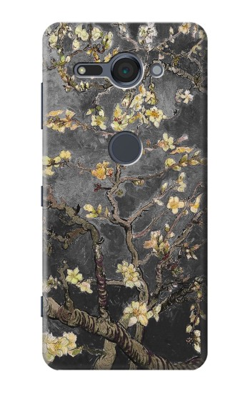 Printed Black Blossoming Almond Tree Van Gogh Sony Xperia XZ2 Compact Case