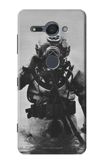 Printed Old Diving Suit Sony Xperia XZ2 Compact Case