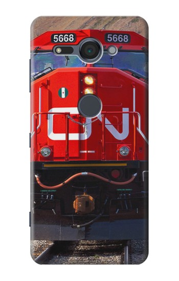 Printed Train Canadian National Railway Sony Xperia XZ2 Compact Case