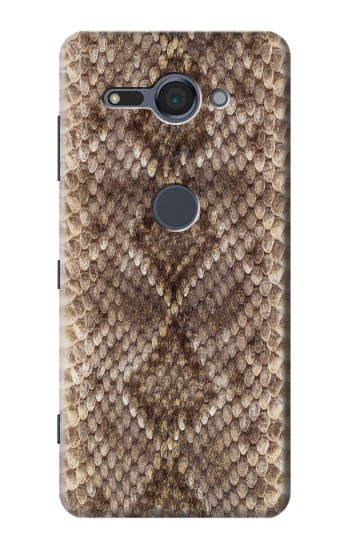 Printed Rattle Snake Skin Sony Xperia XZ2 Compact Case