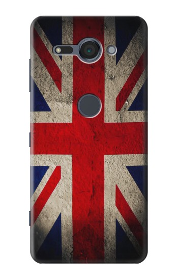 Printed Vintage British Flag Sony Xperia XZ2 Compact Case