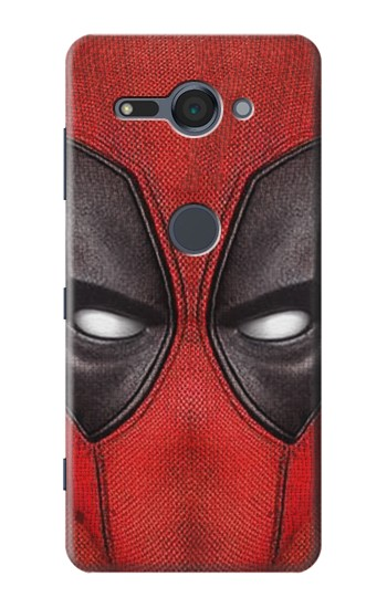 Printed Deadpool Mask Sony Xperia XZ2 Compact Case