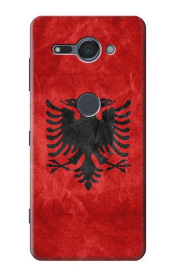 Printed Albania Red Flag Sony Xperia XZ2 Compact Case