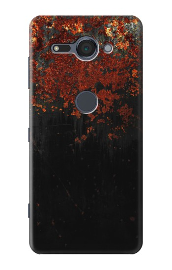 Printed Rusted Metal Texture Sony Xperia XZ2 Compact Case
