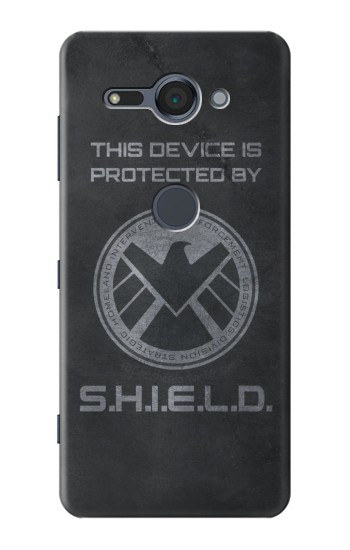 Printed This Device is Protected by Shield Sony Xperia XZ2 Compact Case