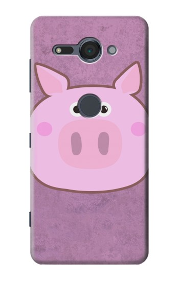 Printed Pig Cartoon Sony Xperia XZ2 Compact Case