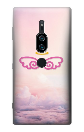 Printed Cute Angel Wings Sony Xperia XZ2 Premium Case