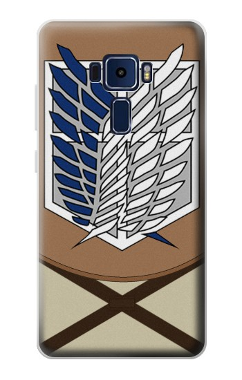 Printed Attack on Titan Survey Corps Uniform Asus Zenfone 3 Deluxe ZS570KL Case