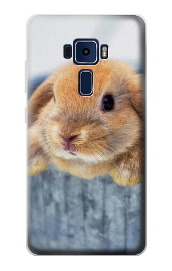 Printed Cute Rabbit Asus Zenfone 3 Deluxe ZS570KL Case