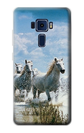 Printed White Horse 2 Asus Zenfone 3 Deluxe ZS570KL Case