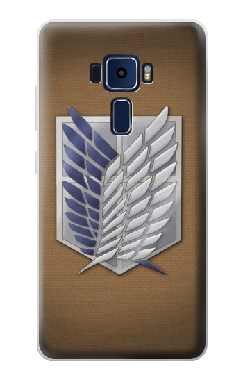 Printed Recon Troops Attack on Titan Asus Zenfone 3 Deluxe ZS570KL Case
