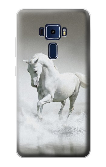 Printed White Horse Asus Zenfone 3 Deluxe ZS570KL Case
