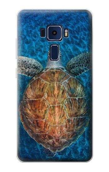 Printed Blue Sea Turtle Asus Zenfone 3 Deluxe ZS570KL Case