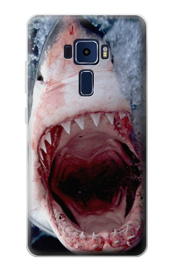 Printed Jaws Shark Mouth Asus Zenfone 3 Deluxe ZS570KL Case