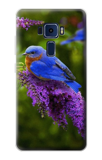 Printed Bluebird of Happiness Blue Bird Asus Zenfone 3 Deluxe ZS570KL Case