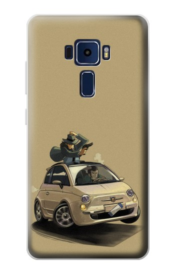 Printed Lupin The Third Asus Zenfone 3 Deluxe ZS570KL Case