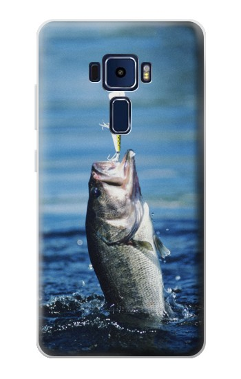 Printed Bass Fishing Asus Zenfone 3 Deluxe ZS570KL Case